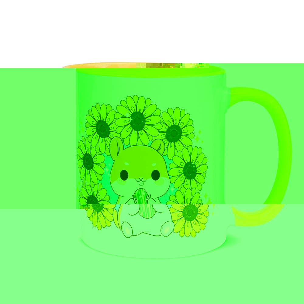 Sunflower Hamster Mug